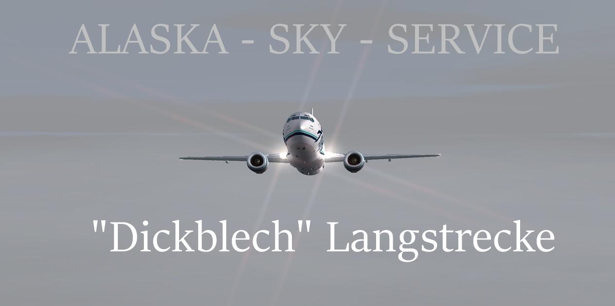 Dickblech - so geht's weiter Langstrecke