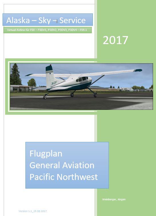 Pacific Northwest - Flugplan Handbuch_deckblatt
