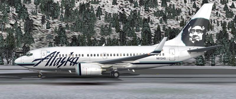 Die nachträgliche Weihnachtsüberraschung 737-700