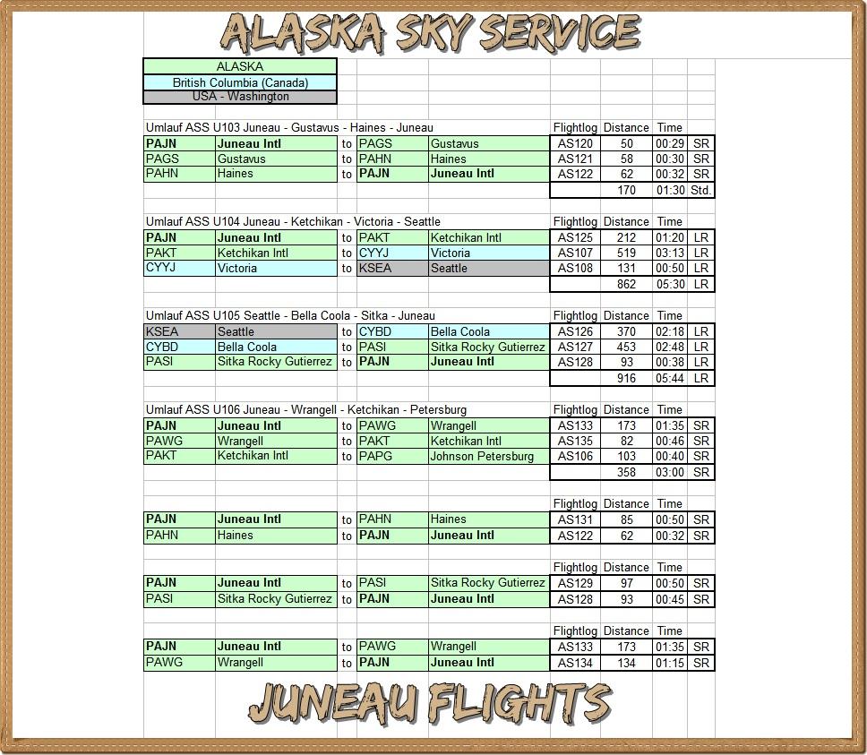 ASS erweitert Streckennetz Juneau