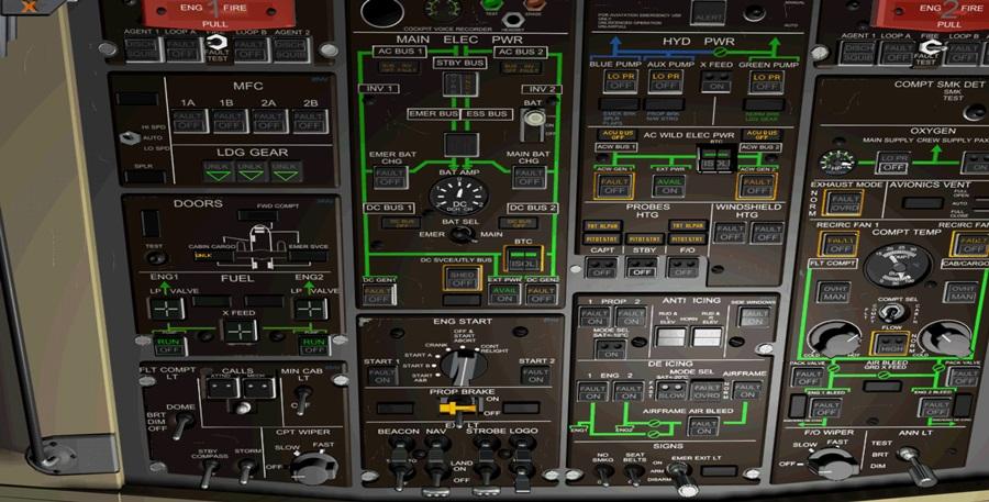 Jungfernflug ATR42-500 Atr01