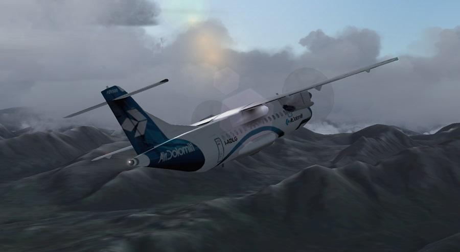 Jungfernflug ATR42-500 Atr06