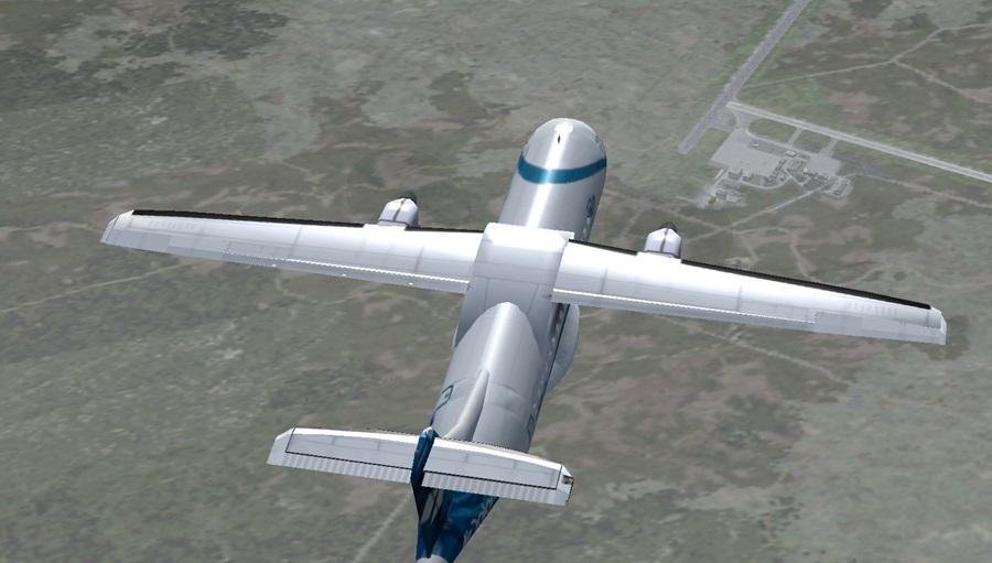 Jungfernflug ATR42-500 Atr07