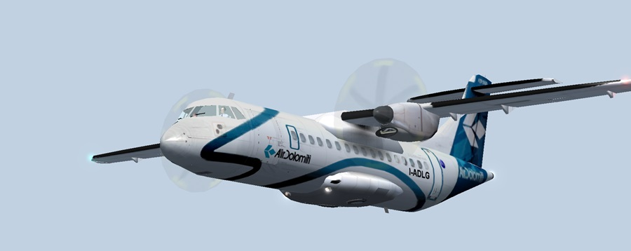Jungfernflug ATR42-500 Atr10