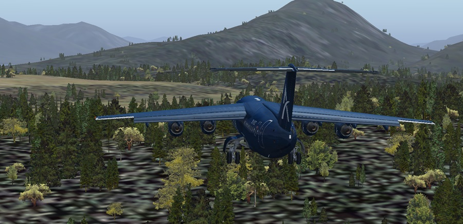Notlandung (fast Crash)in Juneau) Bae11