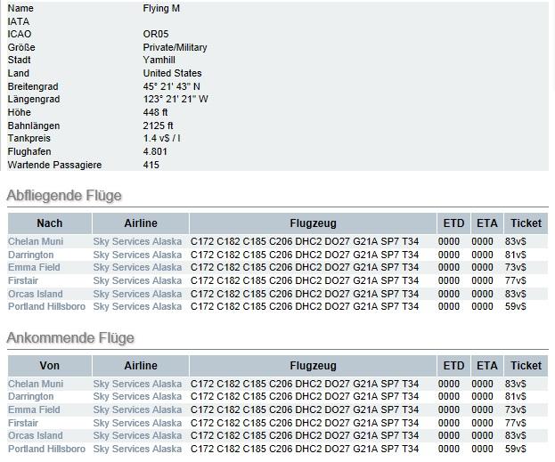 Fehler im FSAirlines System Or05