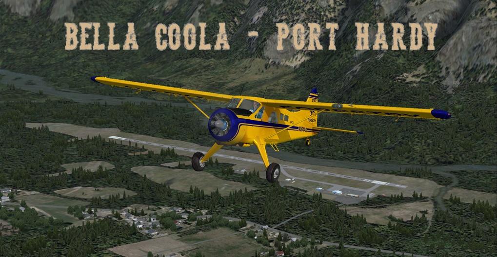 Erster Flug Bella Coola - Port Hardy Bph01