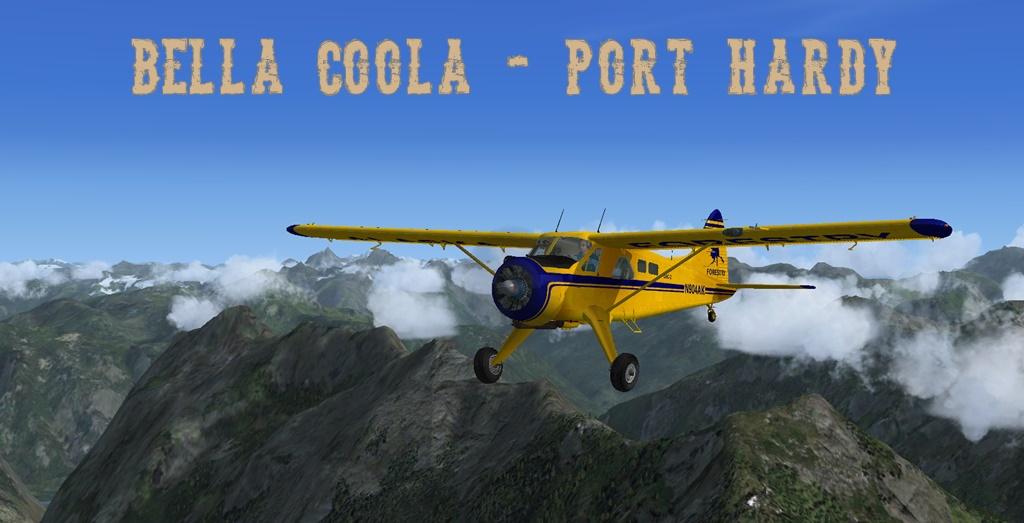 Erster Flug Bella Coola - Port Hardy Bph02