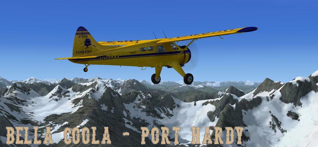 Erster Flug Bella Coola - Port Hardy Bph03