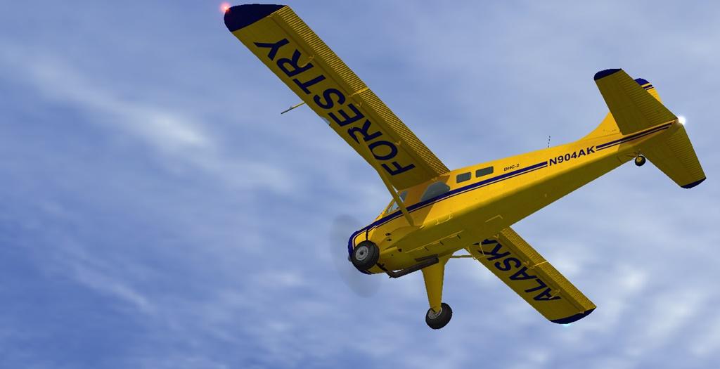 Erster Flug Bella Coola - Port Hardy Bph04