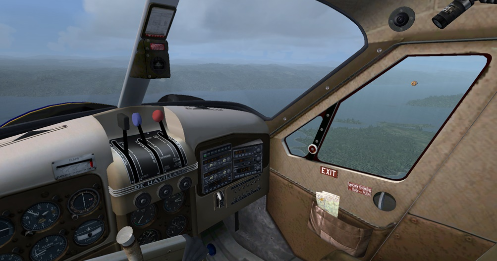 Erster Flug Bella Coola - Port Hardy Bph07