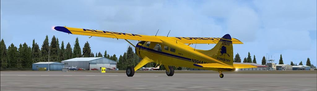 Erster Flug Bella Coola - Port Hardy Bph10