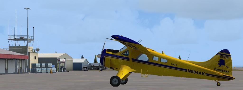 Erster Flug Bella Coola - Port Hardy Bph11