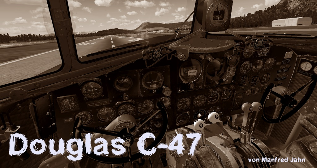 FREEWARE - Douglas C-47 von Manfred Jahn C47_01