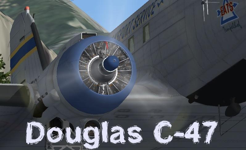 FREEWARE - Douglas C-47 von Manfred Jahn C47_02